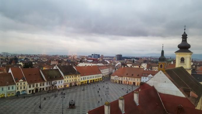 Big Square, Sibiu, Romania