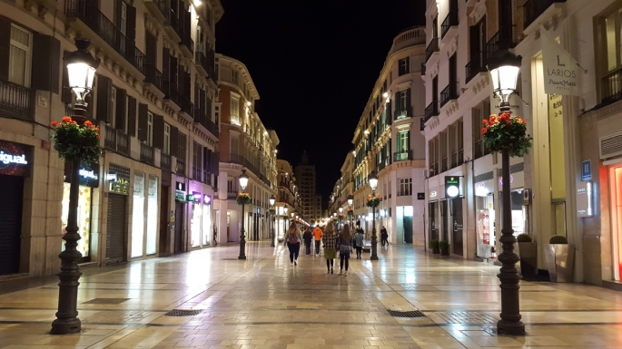Optimized-city center malaga