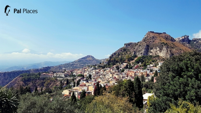 Optimized-view from greek thetre taormina