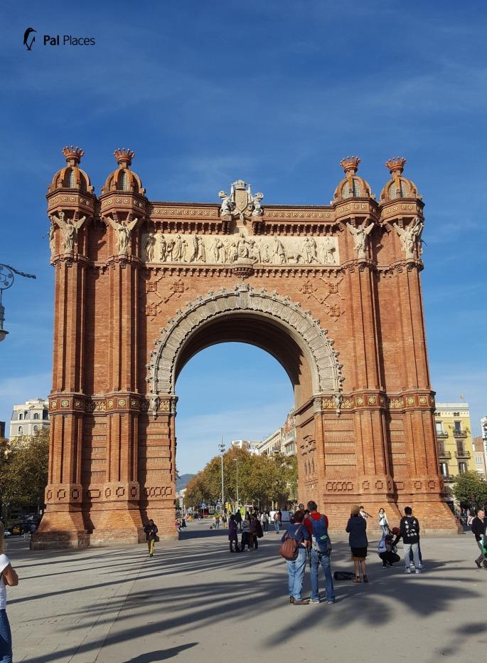 Barcelona, Arc de Triomphe