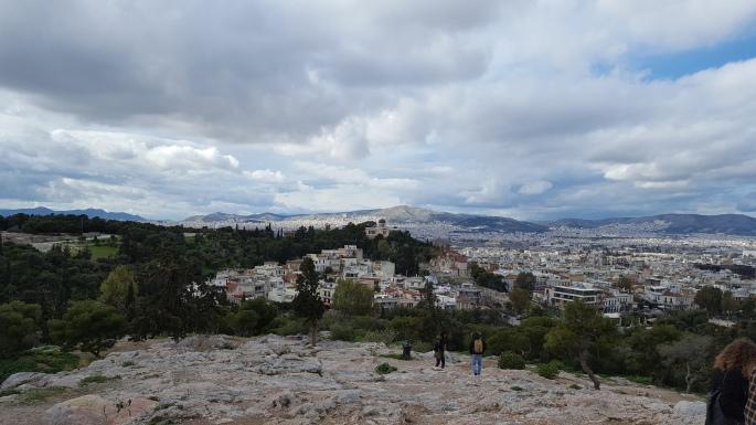 Aeropagus hill, Athens