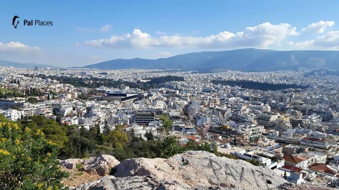 Philoppapus view, Athens